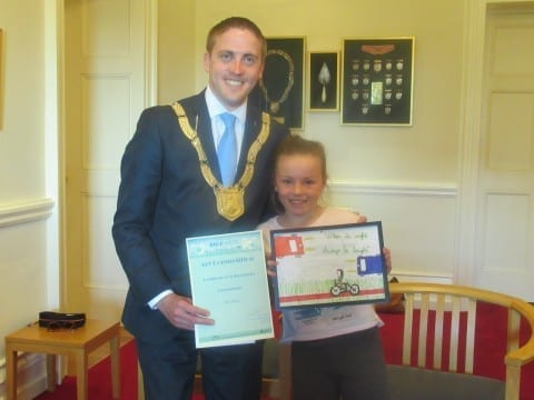 Cycle Safety Art competition