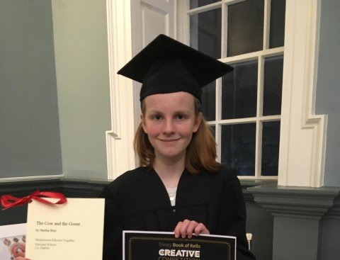 Martha takes home Creative Writing Award
