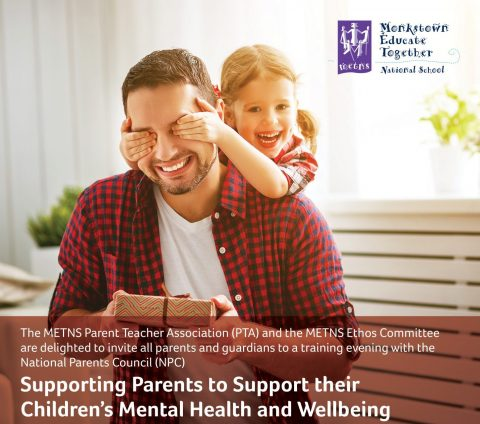 Supporting Your Child's Mental Health and Wellbeing: A Training Evening