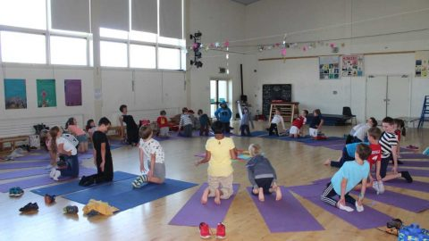 The PTA have sponsored Yoga