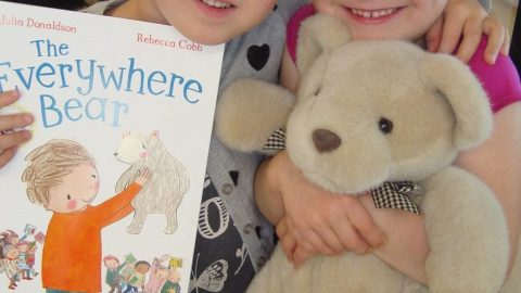 The Everywhere Bear in Senior Infants