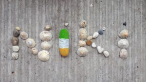 My art with stones and shells